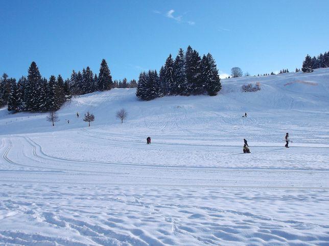 Rodeln und Skifahren in Roßhaupten